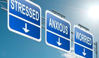 stressed anxious worried